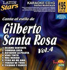 Karaoke Ltin Stars 195 Gilberto Santa Rosa Vol. 4