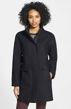 NWT $300 Vince Camuto Wool Blend Coat Navy S Small **IN NORDSTROM NOW** #153