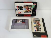 NBA Live 95 Complete in Box - Super Nintendo - SNES - Rare CIB