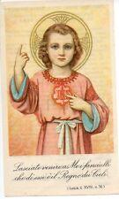 710 Gesù Fanciullo Santino  Holycard