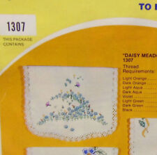 Vintage - Vogart Embroidery Kit - 1307 Daisy Meadow - New