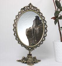 Miroir à colonne imitation de laiton ancien 40 Maquillage table