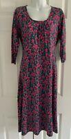 Seasalt Celeriac Dress Size 14 Jersey Bamboo Viscose