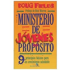 NEW - Ministerio de Jovenes con Proposito by Fields, Doug