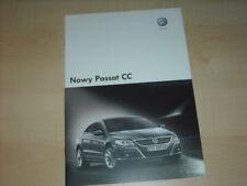 34755) VW Passat CC Polen Prospekt 2008