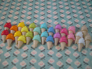 FUNKY ICE CREAM EARRINGS KITSCH CUTE RETRO JUNK FOOD EMO CHOOSE COLOUR SNACK