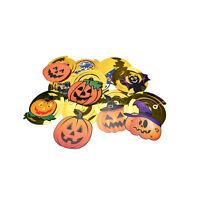 Halloween Party Decoration  Hanging pumpkin ghost Paper Decoration Tassel MW