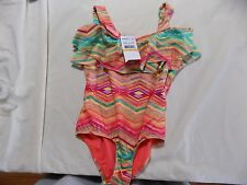 O'Neill Big Girls'  Sunsets One Piece Swimsuit, Coral, 7