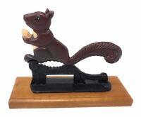 Vintage Squirrel Cast Iron Metal Nut Cracker