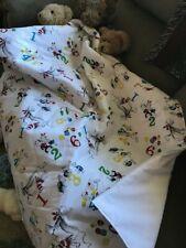 handmade Dr. Seuss baby quilt,white,cotton,1,2,3, fish,cute,keepsake,warm,c ozy
