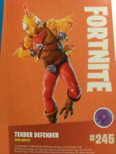 FORTNITE 245 Tender Defender  # 245 PANINI epic outfit