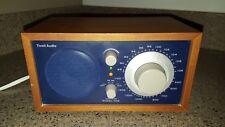 TIVOLI AUDIO MODEL ONE AM/FM TABLE RADIO HENRY KLOSS COBALT BLUE & CHERRY WOOD