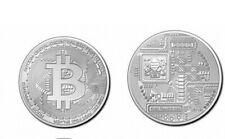 "5000 Francs Münze!! 999 Silber ""Crypto Series 2020"" Bitcoin, stgl.(BU)"