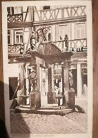 Wertheim Engelsbrunnen 1912 nach Berlin