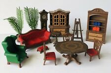 VINTAGE PLAYMOBIL 5300 VICTORIAN MANSION FURNITURE & ACCESSORIES LOT 14 Pc