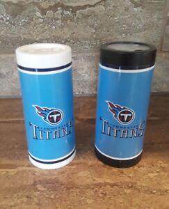 New NFL Tennessee Titans Salt & Pepper Shakers Set Filled & Sealed