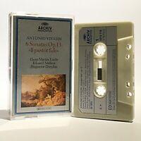 Vivaldi-6 Sonatas Op.13 'Il Pastor Fido' - RARE 1973 Cassette Archiv 3310 116