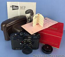 LEICA MP 1957 ORIGINAL #143 IMOOP BLACK PAINT CAMERA +50MM SUMMICRON F2 +BOX WOW