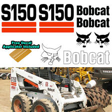 Bobcat S150 Skid Steer Set Vinyl Decal Sticker 7 PC SET + FREE DECAL APPLICATOR