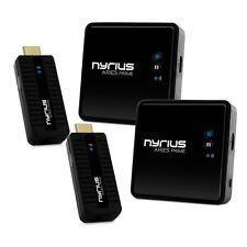 Nyrius ARIES Prime Wireless HDMI Transmitter & Receiver System - 2 Pack