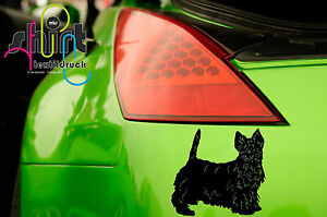 A1470 - ScottishTerrier Hund Hundeaufkleber Aufkleber Autoaufkleber Sticker