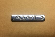 "USED Genuine OEM Rear ""AWD"" Emblem for Enclave, LaCrosse, Regal models RE-TAPED!"