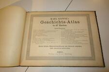 Karl Keppel's Geschichts- Atlas für Mittelschulen in 27 Karten um 1900
