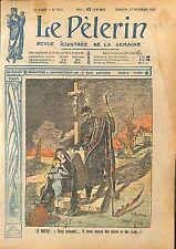 Soldat Feldgrau Pickelhaube La Mort Veuve Orphelin Croix WWI 1918 ILLUSTRATION