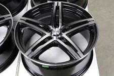 17 5x112 Rims Black Fits Mercedes Benz S430 E320 Bettle Passat Jetta Gti Wheels
