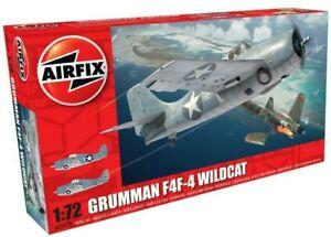 Brand New Airfix 1:72nd Scale Grumman F4F-4 Wildcat Model Kit.