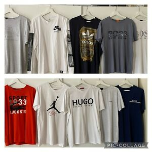 Mens T-shirt Clothes Bundle Hugo Boss Large X Large May Spilt Message Me