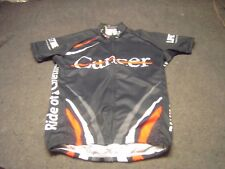 2014 CANCER Ride of a Life Time JEK SPORTS Cyclist Short Sleeve Jersey Size S
