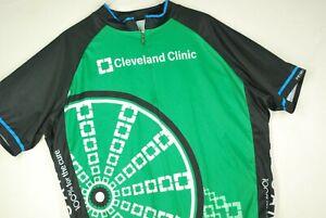 Primal Cleveland Clinic Wrestling Singlet Green High Visibility Primal Mens 2XL