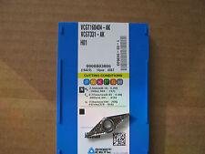 "Korloy VCGT160404-AK, H01, Aluminum Cutting Inserts .015""rad  NEW!!"