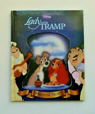 Disney Lady and the Tramp Magical Story Reading Book 3D Cover Kids Age 3+ years