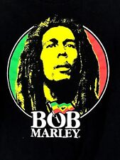 Bob Marley T-shirt Tee Shirt  Black Size Medium