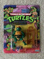 TMNT 1988 Teenage Mutant Ninja Turtles Mike Michaelangelo Action Figure MOC Rare