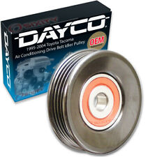 Dayco Air Conditioning Drive Belt Idler Pulley for 1995-2004 Toyota Tacoma qx
