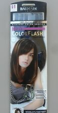 Extensions Balmain Hair ColorFlash 40 cm 12 pièces Blue Ray