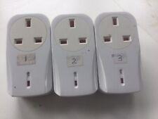 3remote Control Wireless Plug Sockets. No Remote