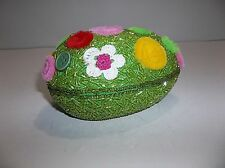 Katherines Collection Easter Candy Container Beaded Egg