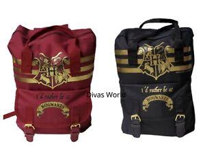 Harry Potter Hogwarts Backpack School Bag Travel Rucksacks Shoulder Bags Holiday