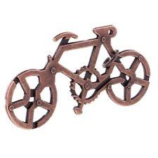 Brain Teaser Metal Puzzle Magic IQ Test Mind Adults Kids Toy Funny - Bike