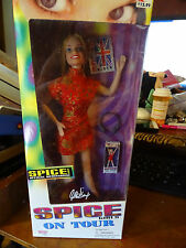 GALOOB SPICE GIRLS ON TOUR BARBIE DOLL GINGER SPICE OFFICIAL MERCHANDISE NIB