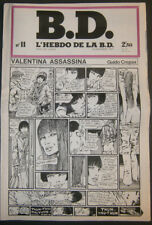 BD - L'HEBDO DE LA BD N°11 - TBE - Editions du Square - 19.12.1978