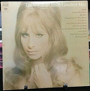 BARBRA STREISAND Greatest Hits Album Released 1970 Vinyl/Record Collection US pr