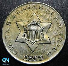 1852 3 Cent Silver Piece  --  MAKE US AN OFFER!  #P7582