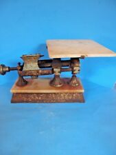 ANTIQUE 20lbs MICROMETER SCALE BY DODGE SCALE CO. YONKERS NY PAT 1892