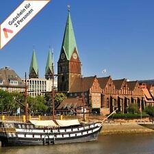 Kurzreise Bremen Zentrum 4 oder 5 Tage Hotelgutschein für 2 Personen Animod