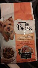 Purina Bella Natural Bites  Real Chicken And Beef Dry Dog Food 3 lb Bag (11/2021